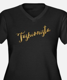Golden Look Fashionista Plus Size T-Shirt