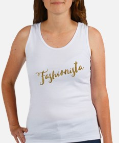 Golden Look Fashionista Tank Top