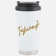 Golden Look Fashionista Travel Mug