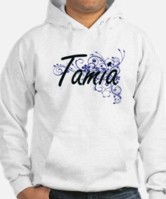 Tamia Artistic Name Design with Hoodie