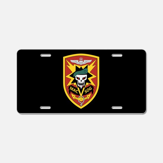 MAC V SOG Aluminum License Plate