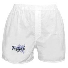 Taniyah Artistic Name Design with Flo Boxer Shorts