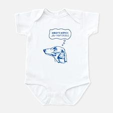 Azawakh Infant Bodysuit