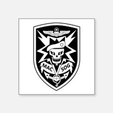 "MAC V SOG (BW) Square Sticker 3"" x 3"""