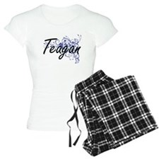 Teagan Artistic Name Design pajamas