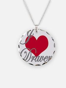 I love (heart) Draven Necklace