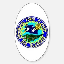 USS Eldorado (AGC 11) Oval Decal