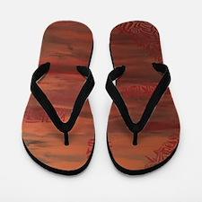 Tribal Heat Flip Flops
