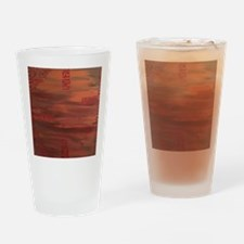 Tribal Heat Drinking Glass