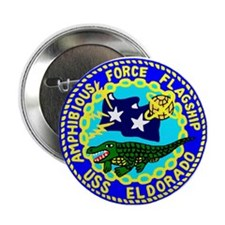 "USS Eldorado (AGC 11) 2.25"" Button (10 pack)"