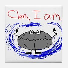 Clam, I am Tile Coaster