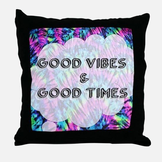 Unique Tye dye Throw Pillow