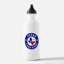 Texas Lone Star Water Bottle