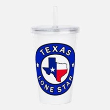 Texas Lone Star Acrylic Double-wall Tumbler