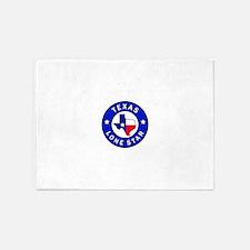 Texas Lone Star 5'x7'Area Rug