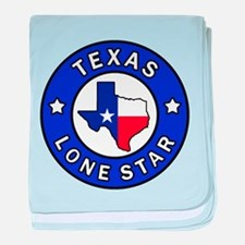 Texas Lone Star baby blanket