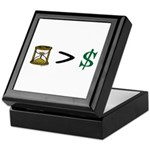 Time Greater Money Keepsake Box