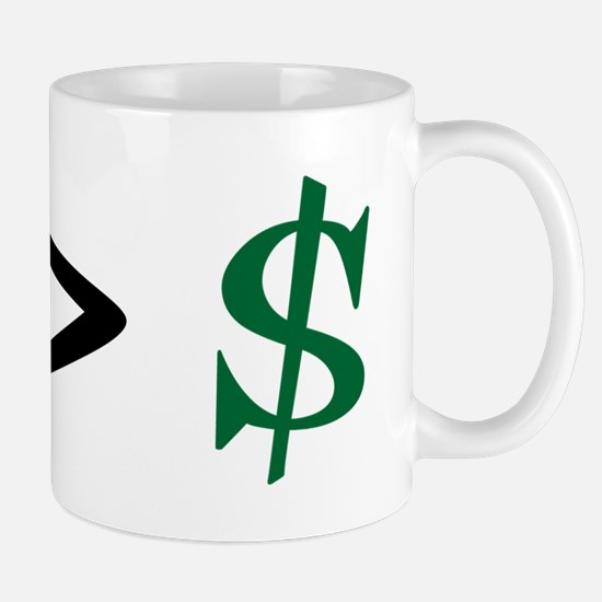 Time Greater Money Mug