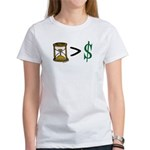 Time Greater Money Women's T-Shirt
