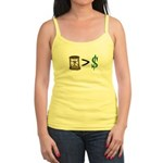 Time Greater Money Jr. Spaghetti Tank