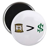 Time Greater Money Magnet