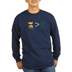 Time Greater Money Long Sleeve Dark T-Shirt
