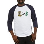 Time Greater Money Baseball Jersey