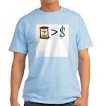 Time Greater Money Light T-Shirt
