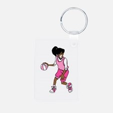 Basketball Girl Keychains