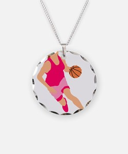 Pink Play Hard Necklace