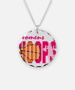 Womens Hoops Necklace