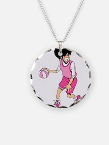 Basketball Girl Necklace
