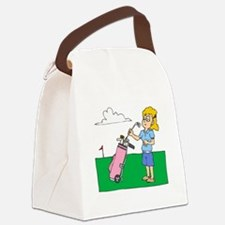 Picky Golfer Canvas Lunch Bag