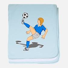 Soccer Shooter baby blanket
