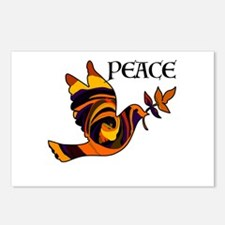 Peace Dove-MC Postcards (Package of 8)