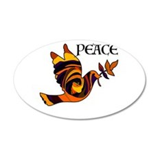 Peace Dove-MC Wall Decal