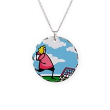 Soccer Shooter Necklace