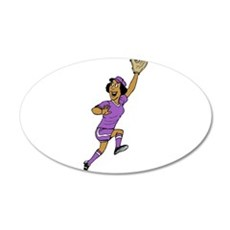 Jump for it! 20x12 Oval Wall Decal