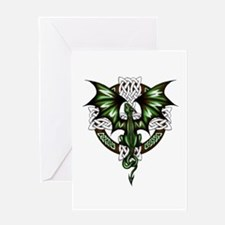 Celtic Dragon Greeting Cards