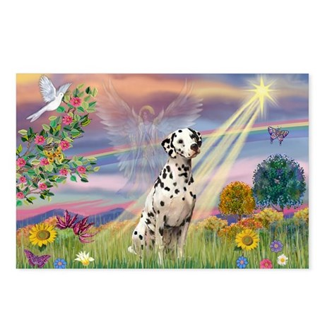 Mona Lisa (new) & Dalmatian Postcards (Package of