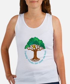 Bright Colored Friendship Tree Tank Top