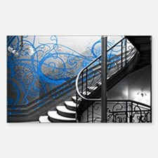 Gothic Staircase Decal