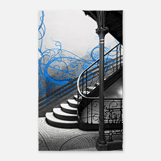Gothic Staircase Area Rug