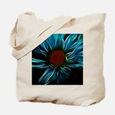 Funny Neon fractal Tote Bag