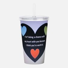 Chance Acrylic Double-wall Tumbler