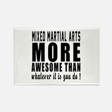 Mixed martial arts More Awesome M Rectangle Magnet