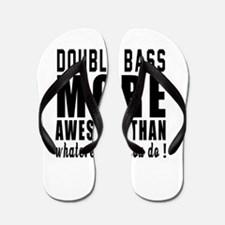 Double bass More Awesome Instrument Flip Flops