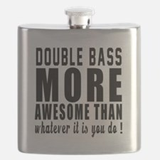 Double bass More Awesome Instrument Flask