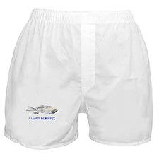 Fish Skeleton Boxer Shorts