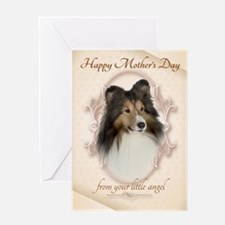 Funny Sheltie Mothers Day Cards